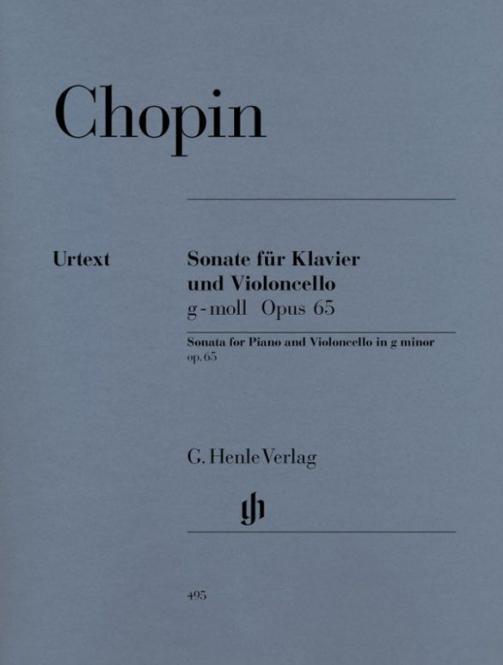 Sonate für Violoncello und Klavier g-moll op. 65