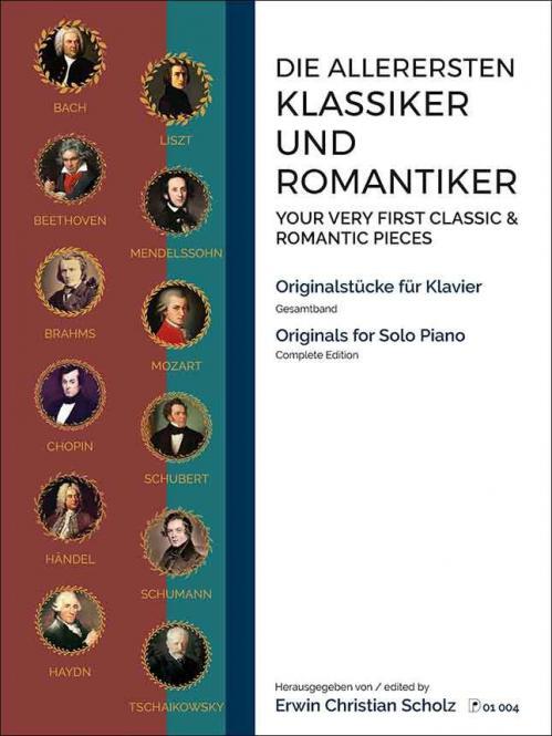Die allerersten Klassiker und Romantiker Band 1-3 kplt.