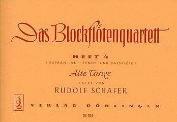 Das Blockflötenquartett 4