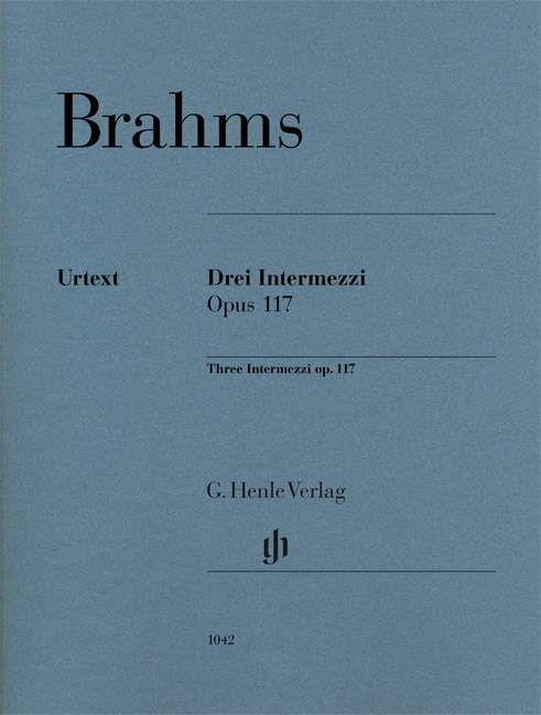 3 Intermezzi op. 117