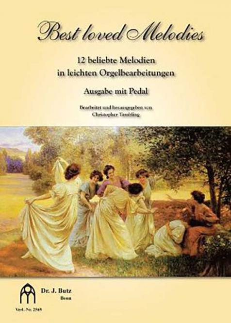 Best loved Melodies 1 - Ausgabe mit Pedal