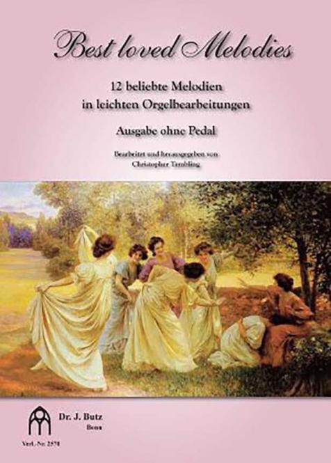 Best loved Melodies 1 - Ausgabe ohne Pedal