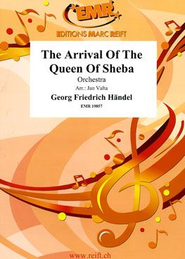 The Arrival of the Queen of Sheba Standard