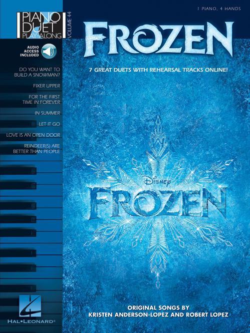 Piano Duet Play-Along Vol. 44: Frozen