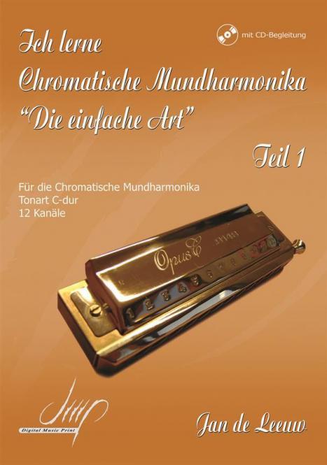 Ich lerne Chromatische Mundharmonika 1