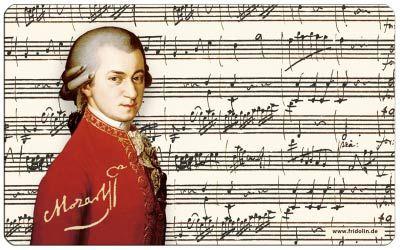 Frühstücksbrettchen 'Mozart'
