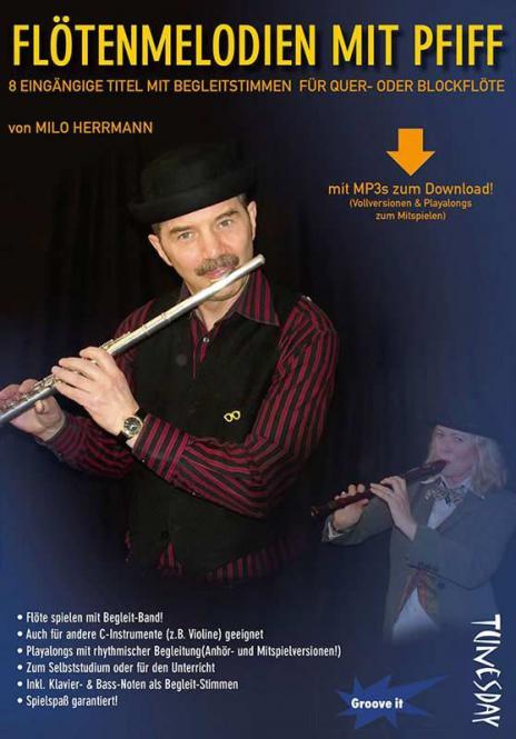 Flötenmelodien mit Pfiff
