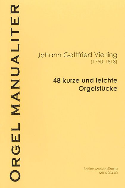 48 leichte Orgelstücke