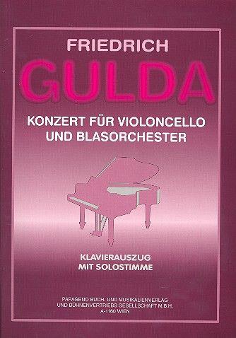 Konzert für Violoncello und Blasorchester (1980)