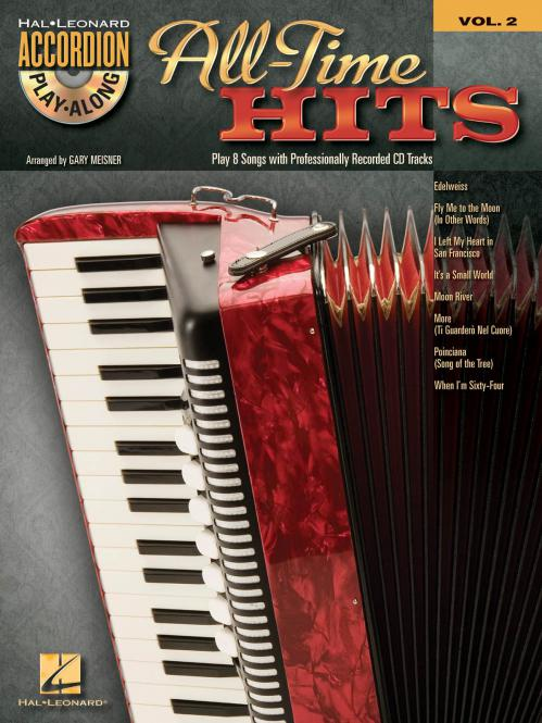 Accordion Play-Along Vol. 2: All-Time Hits