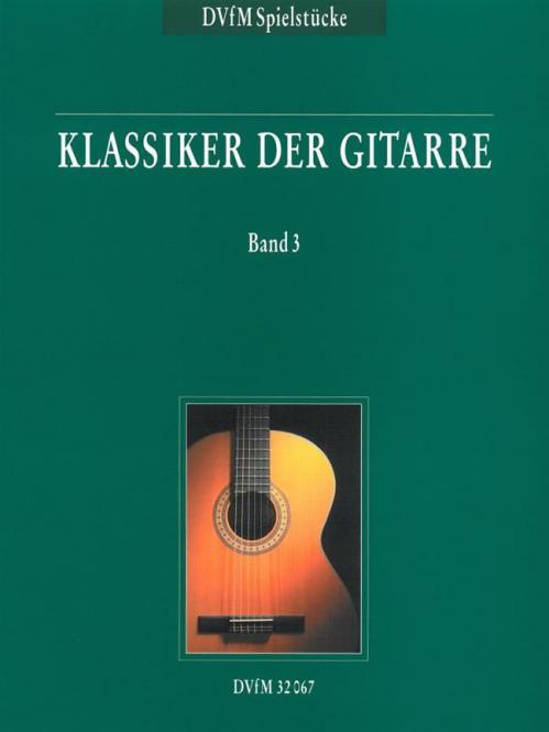 Klassiker der Gitarre Band 3