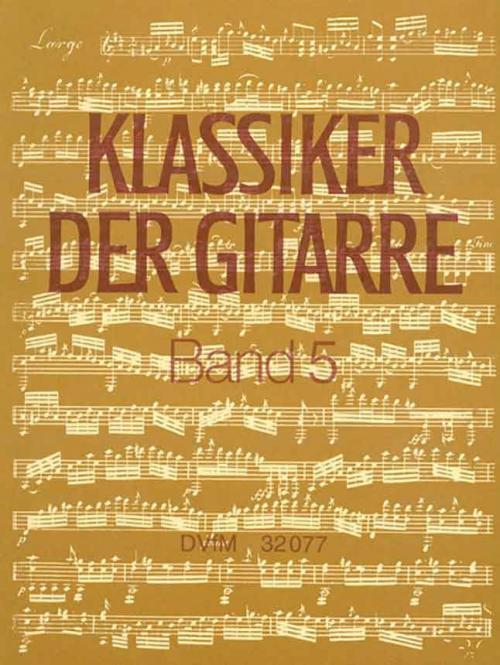 Klassiker der Gitarre Band 5