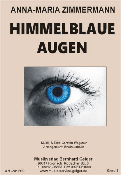 Himmelblaue Augen