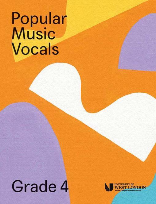 Popular Music Vocals - Grade 4