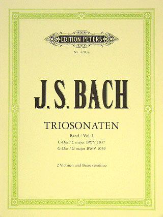 Triosonaten für Flöte, Violine u. Bc. Band 1