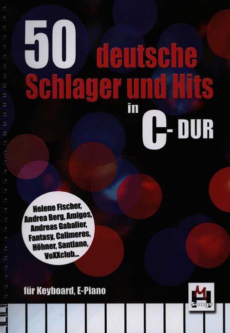 50 Deutsche Schlager und Hits In C-Dur