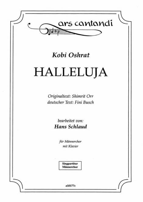 Halleluja, sing a song