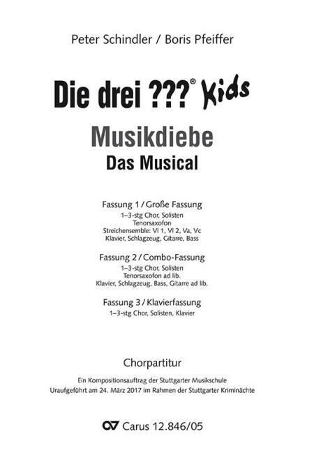 Die drei ??? Kids: Musikdiebe