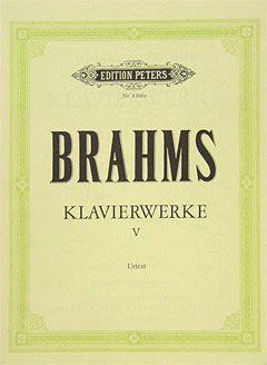 Klavierwerke in 5 Bänden, Band 5