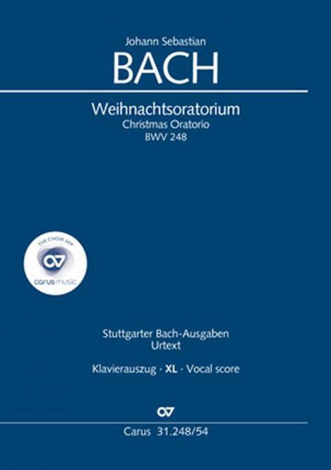 Weihnachtsoratorium BWV 248 - Klavierauszug XL
