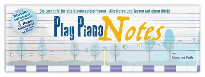 Play Piano Notes