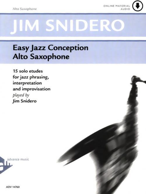 Easy Jazz Conception Alto Saxophone