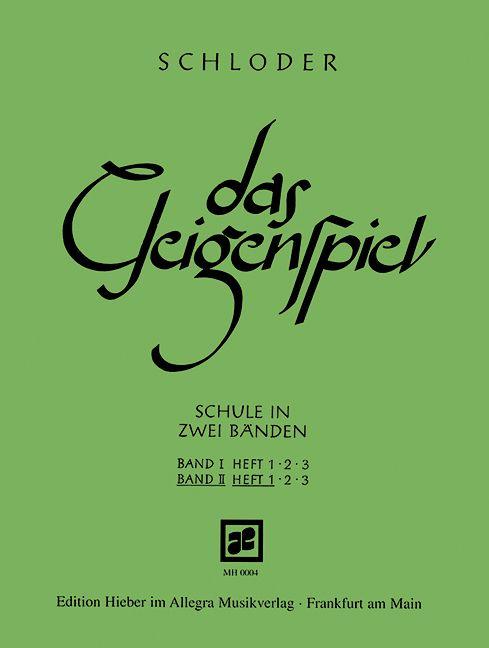 Das Geigenspiel Band 2 Heft 1