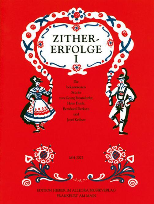 Zither-Erfolge Heft 1