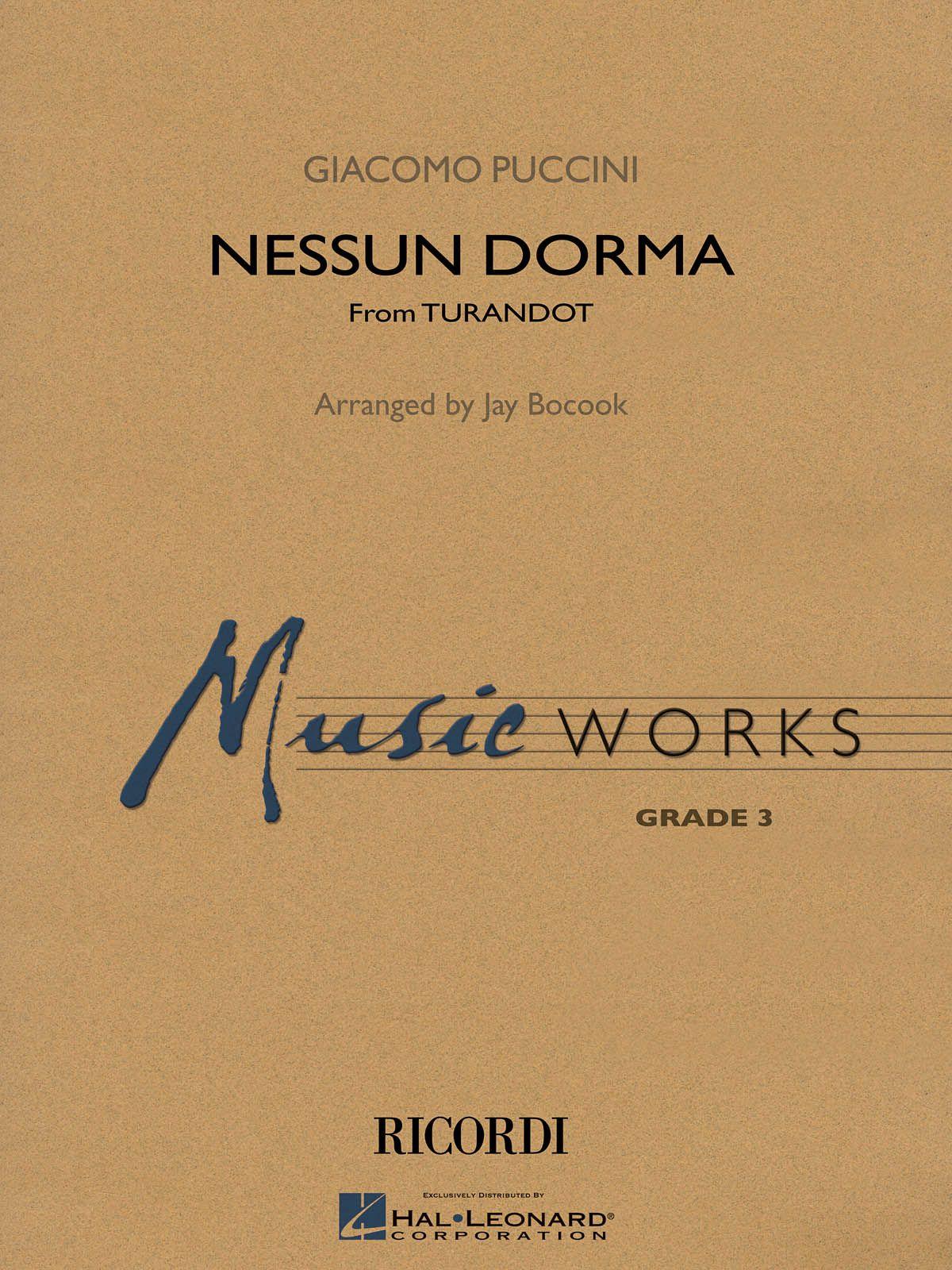 Nessun Dorma (Giacomo Puccini) » Blasorchester Noten