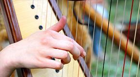 Noten für Harfe
