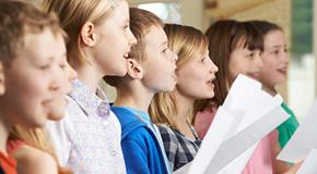 Noten für Kinderchor