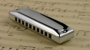 Noten für Mundharmonika