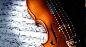 Noten für Violinen